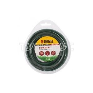 Двухкомпонентная круглая леска для триммера 2,65 мм 15 м EXTRA CORD DENZEL 96128