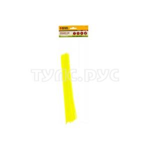 Леска для триммера зубчатый квадрат нарезанная 3 мм х 30 см 50 шт FL DENZEL 96104