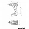 Аккумуляторная дрель-шуруповерт Metabo BS 18 L BL Q 602327840