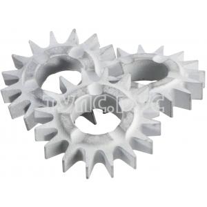 Набор звездочек (острый зуб) 10 шт для фрезерной головки RFEV19-125 Metabo 628270000