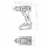 Аккумуляторная дрель-шуруповерт Metabo BS 18 L BL 602326840