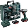 Аккумуляторный винтоверт Metabo BS 14.4 с набором оснастки 602206880