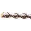 Бур по бетону, двойная спираль, Cobalt W-tip (22x600 мм; SDS PLUS) Denzel 705055
