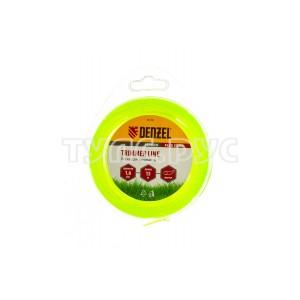 Леска для триммера круг 1,6 мм х 15 м блистер FLEX CORD DENZEL 96106