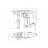 Аккумуляторный перфоратор Metabo KHA 36 LTX 600795650