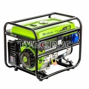 Генератор бензиновый БС-8000, 6,6 кВт, 230В, 4-х такт., 25 л, ручной стартер Сибртех 94547