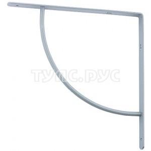 Арочный выгнутый кронштейн СИБРТЕХ 150х150х20 мм серый 94057