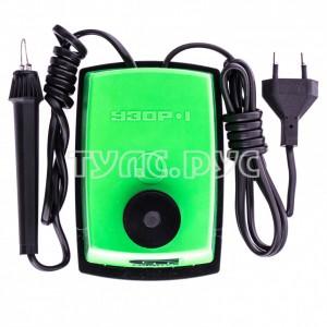 Электроприбор для выжигания по дереву СИБРТЕХ Узор 1 с подставкой, 1 зап, игла, 5 проекций 91304