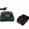 Аккумуляторы 2 шт. (4 А*ч; 18 В; Li-Ion) и ЗУ ASC 30-36 Basic-Set Metabo 685050000