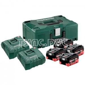 Набор Basic-Set 12V (2 аккумулятора Li-Power 12 В, 4,0 Ач+ЗУ ASC 55) Metabo 685301000