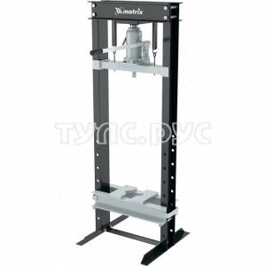 Гидравлический пресс, 20 т, 750x650x1510 мм MATRIX 523205