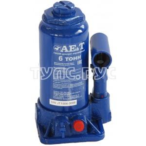 Бутылочный домкрат AE&T 6т T20206