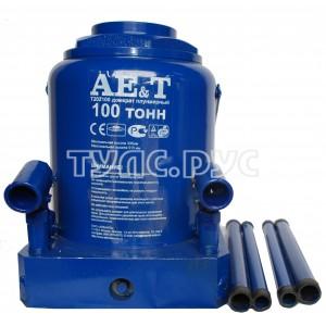 Бутылочный домкрат AE&T 100т T202100