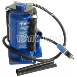 Пневмогидравлический бутылочный домкрат AE&T 20т Т21020