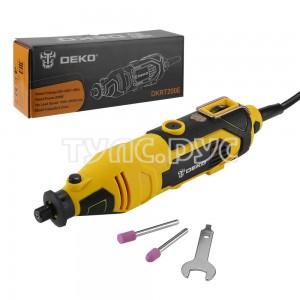 Электрический гравер с регулировкой скорости 200Вт Deko DKRT200E 063-1410