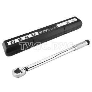 Ключ динамометрический DEKO DKTW03 1/2, 28-210 Нм 065-0343
