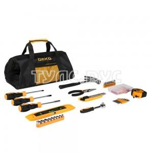 Универсальный набор инструмента для дома в сумке Deko DKMT116 (116 предметов) 065-0733