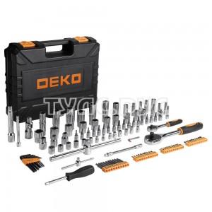 Профессиональный набор инструментов для авто DEKO DKAT121 в чемодане (121 предмет) 065-0911
