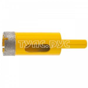 Сверло алмазное по керамограниту (22 мм) DENZEL 72680