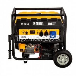 Бензиновый генератор Denzel PS 70 EA, 7,0 кВт, 230В, 25л 946894