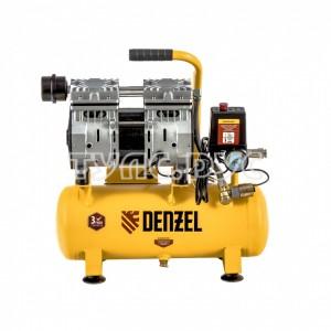 Компрессор безмасляный Denzel DLS650/10 58021
