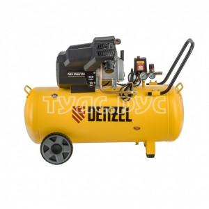 Воздушный компрессор DENZEL DKV2200/100,Х-PRO 2.2 кВт, 400 л/мин, 100л 58079