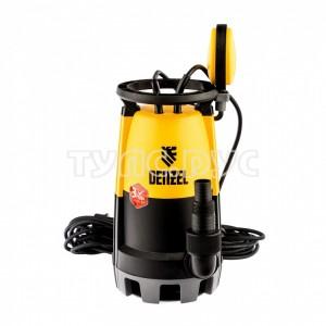 Дренажный насос для чистой и грязной воды DENZEL DP-600S 97268