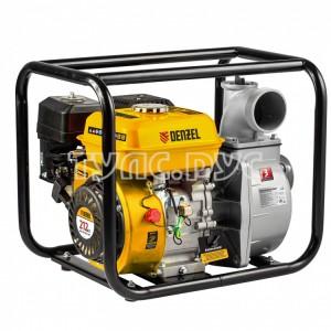 Бензиновая мотопомпа для чистой воды DENZEL PX-80 99202