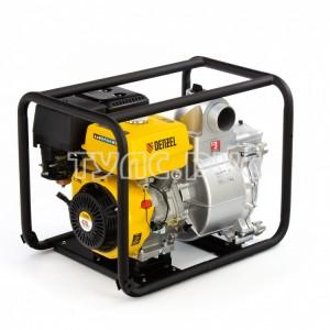 Бензиновая мотопомпа для грязной воды DENZEL PX-80D 99204