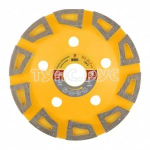 Чашка алмазная зачистная Агрессор (125х22.2 мм) DENZEL 72972