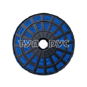 Плетеная веревка ЭБИС п/п 4 мм 500 м синяя 00166