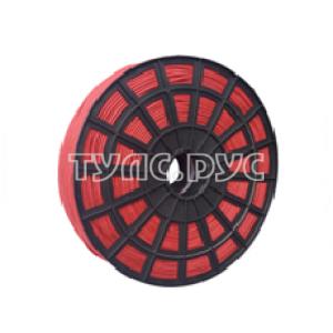 Плетеная веревка ЭБИС п/п 4 мм 500 м красная 00167