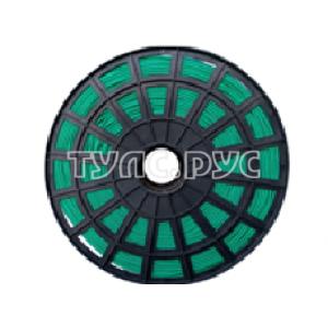 Плетеная веревка ЭБИС п/п 4 мм 500 м зеленая 00168