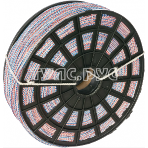 Веревка вязаная ПП 4 мм (500 м) цветная ЭБИС 71248