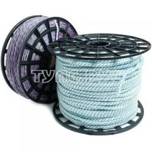 Верёвка плетёная ПП 4 мм (500 м) цветная ЭБИС 71415