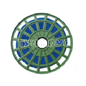 Плетеная веревка ПП 6 мм (200 м) ЭБИС синяя 72160
