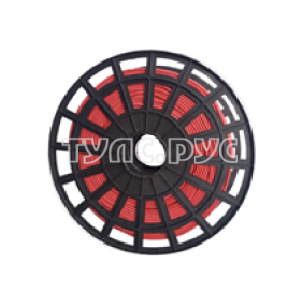 Плетеная веревка ЭБИС п/п 6 мм 200 м красная 00175