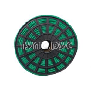 Плетеная веревка ЭБИС п/п 8 мм 200 м зеленая 00180