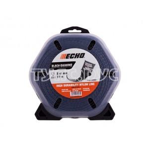 Корд триммерный Black Diamond Line (2,7 мм, 77 м, скрученный квадрат) ECHO 340095071
