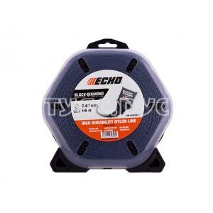 Корд триммерный Black Diamond Line (2,7 мм, 66 м, скрученный квадрат) ECHO 340105071