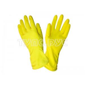 Хозяйственные резиновые перчатки, размер L