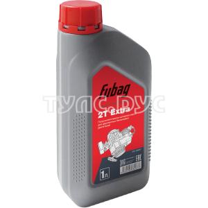 Масло моторное полусинтетическое для двухтактных бензиновых двигателей 1 литр Fubag 2Т Extra