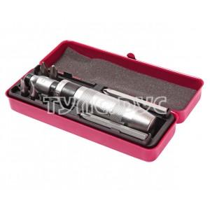 Отвертка ударная с битами в комплекте (6шт) JTC /1/20 JTC-3207