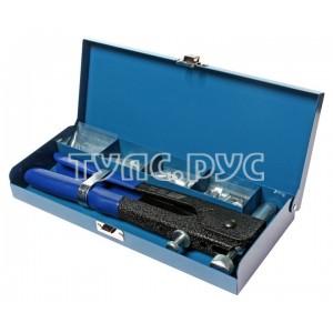 Заклепочник ручной резьбовой с заклепками в комплекте 3; 4; 5; 6мм, общая длина 270мм (в кейсе) JTC /1/16 JTC-5821A