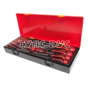 Набор отверток усиленных в кейсе 10шт (ст. арт. JTC-K7101) JTC /1 JTC-K7102