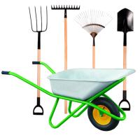 Садовый инструмент и ивентарь