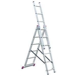 Выдвижная лестница 2х11 Krause Corda 012111
