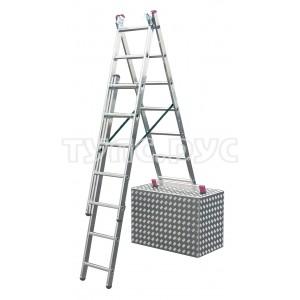 Универсальная алюминиевая лестница 3х7 Krause Corda 013378