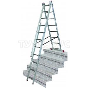 Универсальная лестница 3х8 с дополнительной функцией Krause Corda 013385