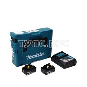 Аккумулятор 18 В, 5 А*ч, Li-ion + зу DC18RC в кейсе MakPac Makita 198311-6